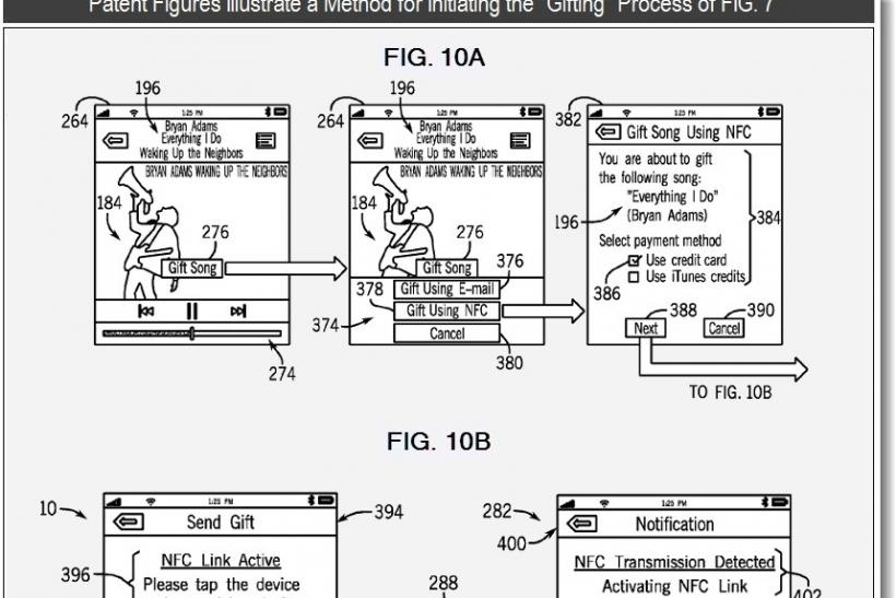 iPhone 5 Features - Apple Develops NFC Patent For Gift-Giving Through iTunes