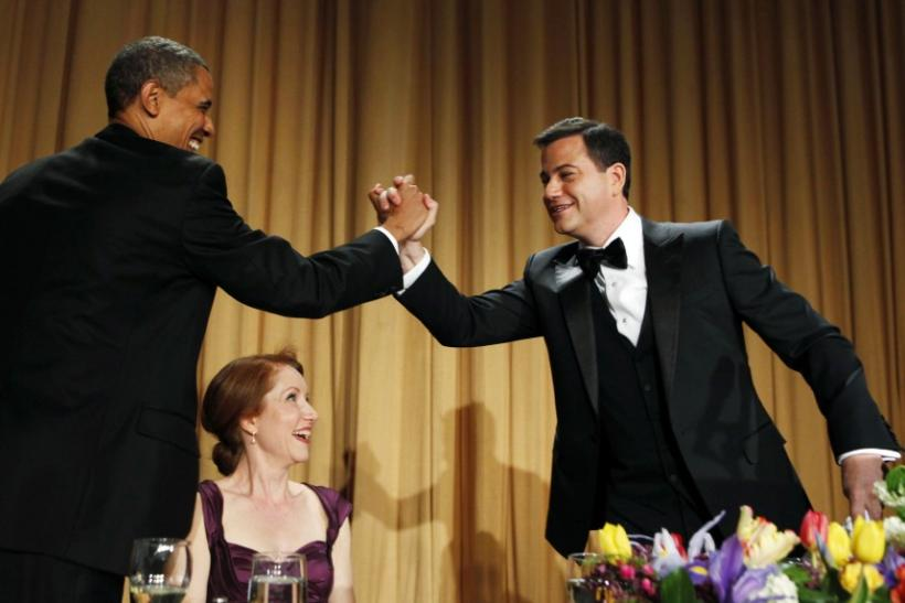 Did Obama Outshine Jimmy Kimmel at the White House Correspondents Dinner?