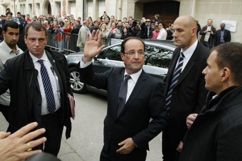 Hollande in Paris