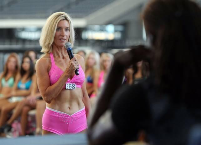 Sharon Simmons auditions for Dallas Cowboys