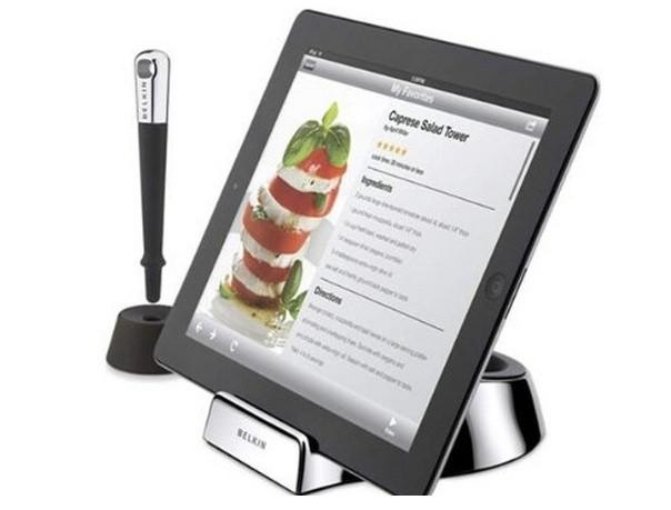 The Belkin Chef Stand $21.95 ( Amazon)