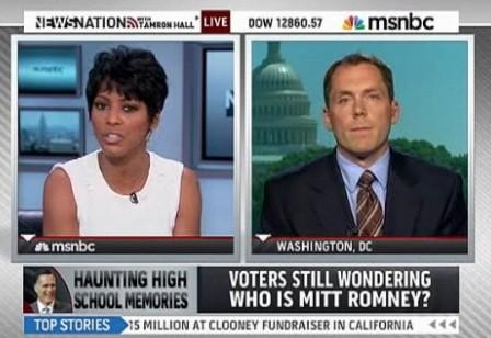 WATCH: MSNBC's Tamron Hall Cuts Off Guest Who Criticized Romney Bullying Coverage [VIDEO]