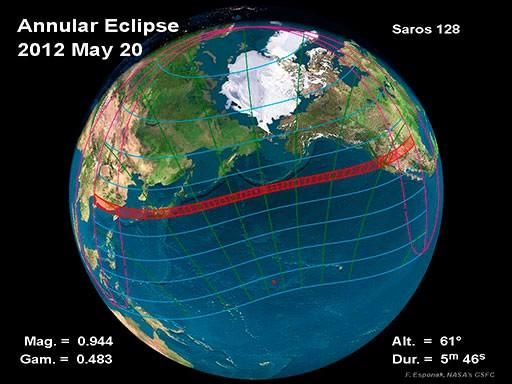 Ring of Fire Solar Eclipse, May 20