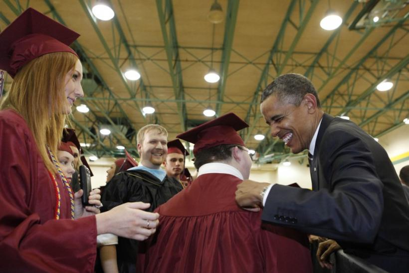 At Joplin Commencement, Obama Praises Tornado Survivors for Putting Community Before 'Greed,' 'Cruelty'
