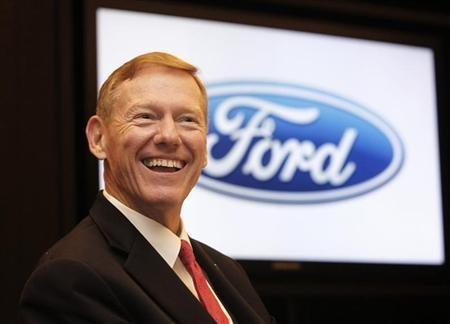 Ford's Mulally Drops Out Of Contention To Head Microsoft