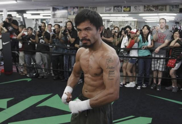 Manny Pacquiao and Floyd Mayweather have been unable to agree upon terms of a fight.