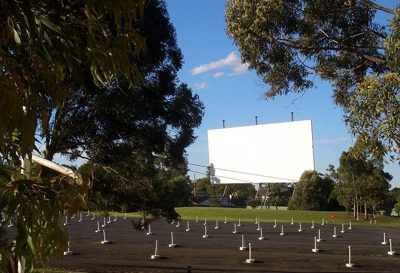 Bass Hill Drive-In Cinema, Sydney, Australia