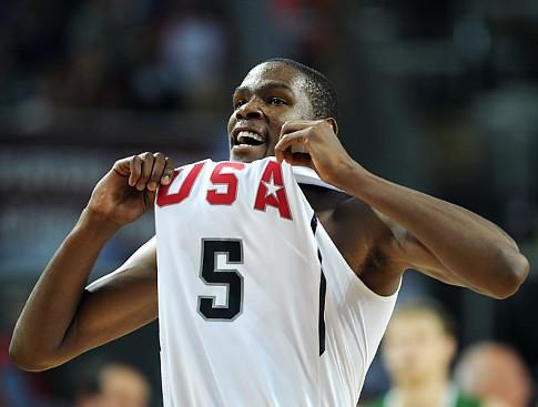 Men's Basketball: Kevin Durant (USA)