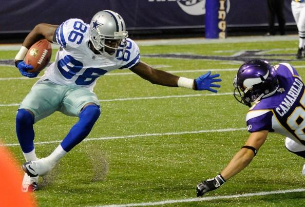 Raymond Radway is one of the candidates for the Cowboys third wide receiver job.