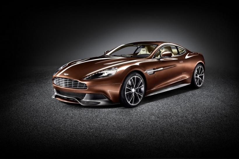 The front of the new Aston Martin 310 Vanquish.