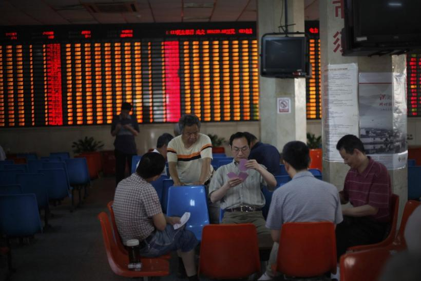 A brokerage house in Shanghai.