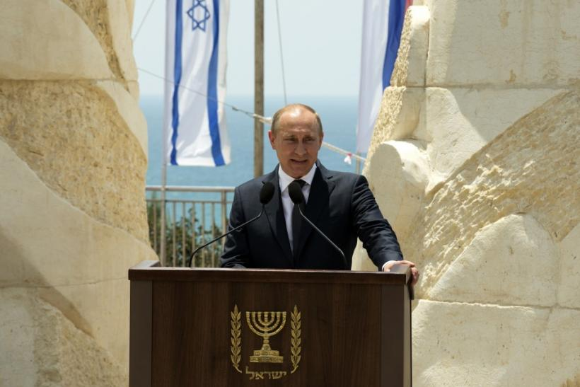 Russian President Vladimir Putin is visiting Israel
