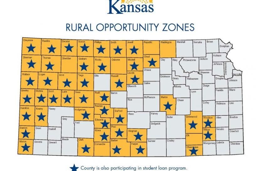 Kansas Rural Opportunity Zones.