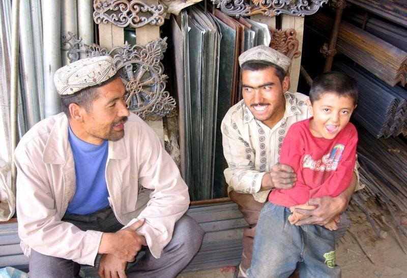 Uighurs in western China