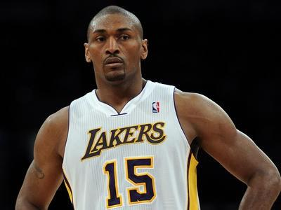 Metta World Peace Returns Against Hornets