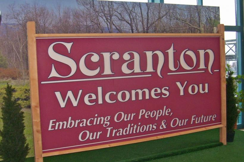Scranton Sign