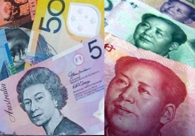 Australian dollar and Chinese yuan