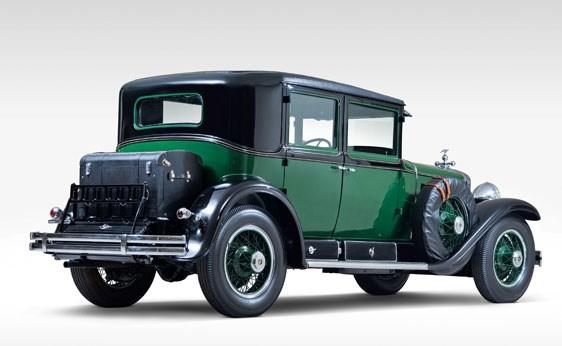 Al Capone's 1928 V8 Cadillac is up for auction by RM Auctions. It was one of the first armored cars.