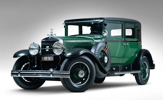 Al Capone's 1928 V8 Cadillac is up for auction by RM Auctions. Even today it has a sinister appeal.