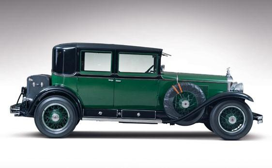 Al Capone's 1928 V8 Cadillac is up for auction by RM Auctions. The car is an iconic reminder of Chicago's organized crime past.