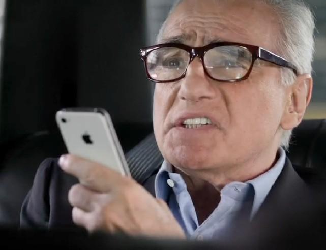 Siri Chats Up Martin Scorsese: 30 Celebrities That Need Their Own Apple iPhone Commercials