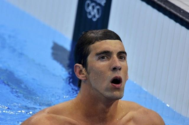 Phelps and U.S. Upset