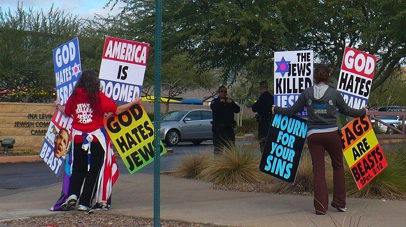 Westboro Baptist Church Protestors