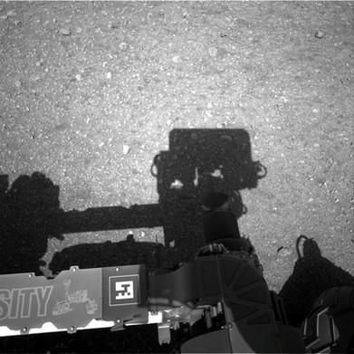 NASA's Curiosity Rover's Self Potrait