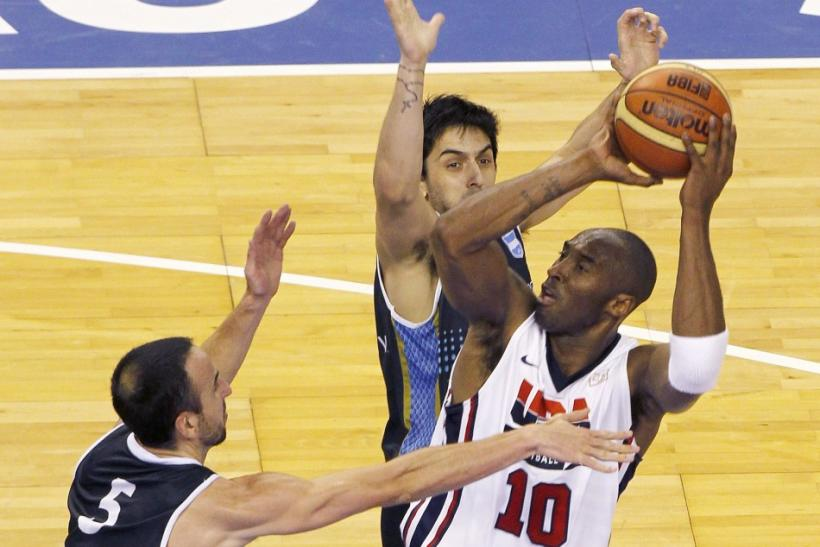Kobe Bryant recently won a gold medal with the U.S. at the 2012 Olympics.