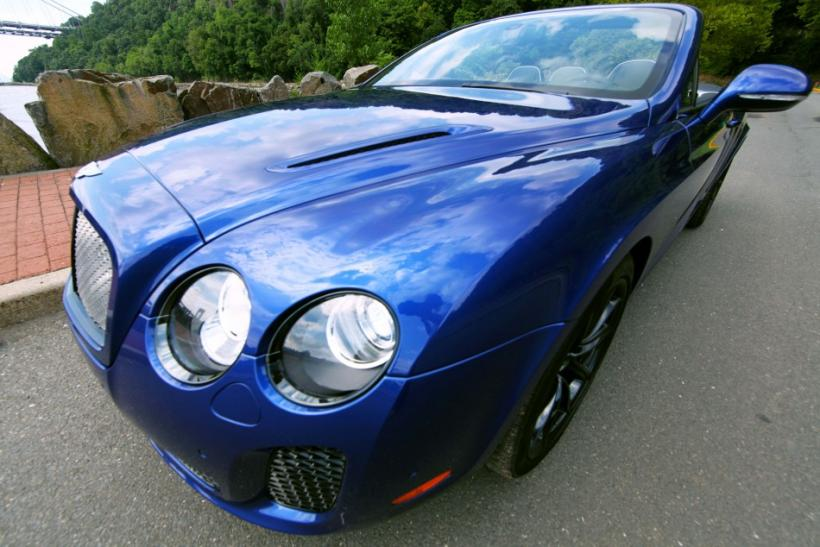 The Bentley Continental Supersports Convertible epitomizes power and refinement.