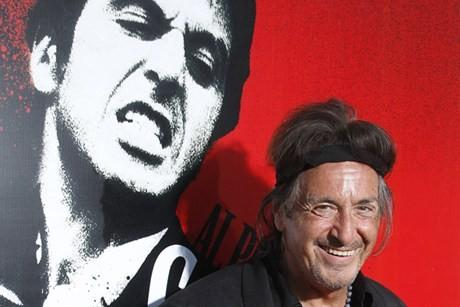 Actor Al Pacino portrayed gangster Tony Montana in the remake of Scarface