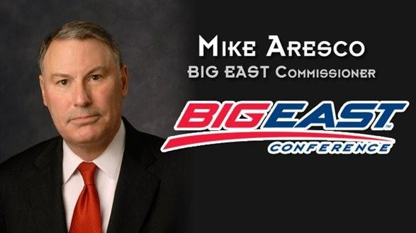 Mike Aresco is the new Big East commissioner.