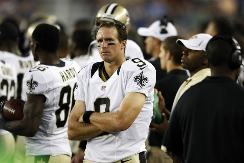 Drew Brees set a record in 2011 with 5,476 passing yards.