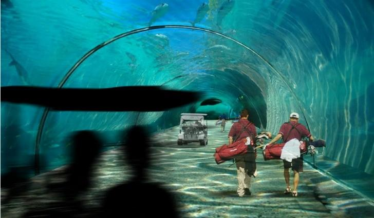 Maldives Golf Tunnels