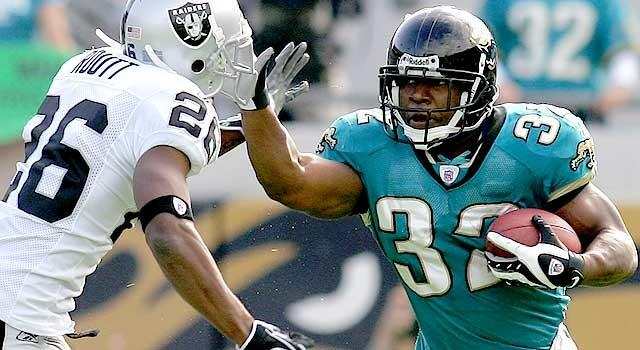Maurice Jones-Drew has rushed for over 1,300 in each of the past three seasons.