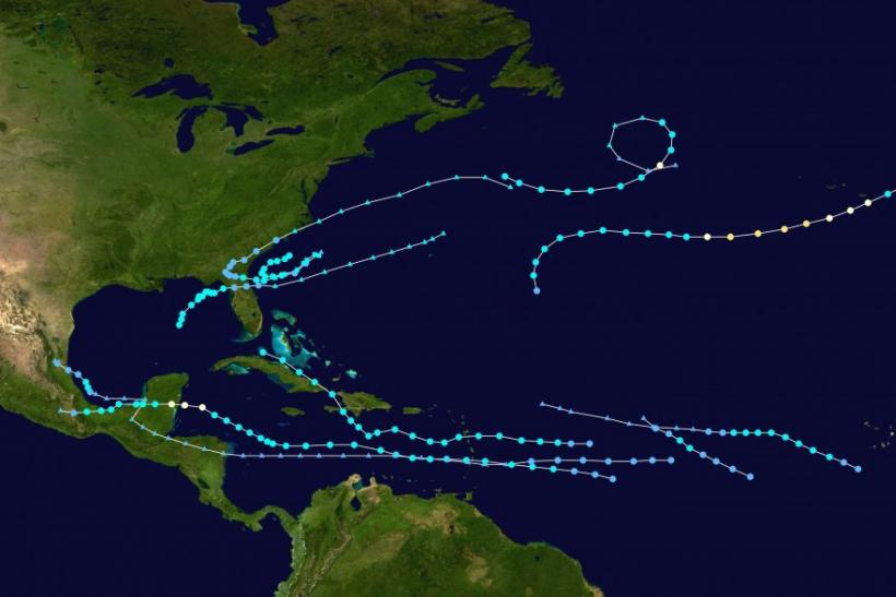 Atlantic Hurricane Season 2012