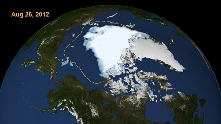 arctic ice record