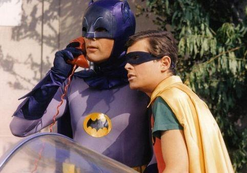 "Batman's use of the ""Bat phone"" spoofed the ""hot line"" between Moscow and Washington."