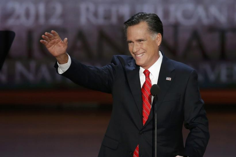 Mitt Romney at RNC