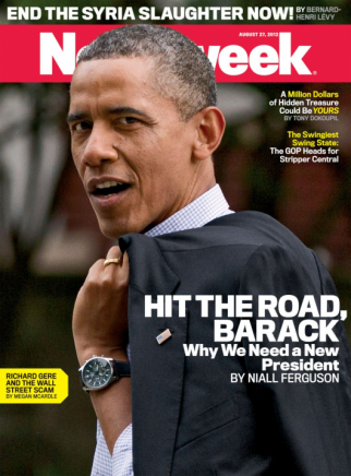 Newsweek Anti-Obama Cover