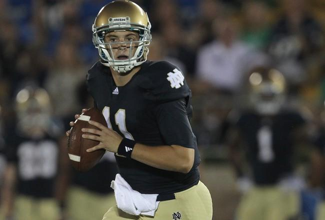 Tommy Rees won't play for Notre Dame against Navy.