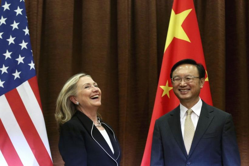 Clinton and Yang