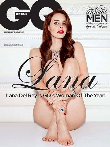 Lana Del Rey bares all for GQ magazine Cover shoot