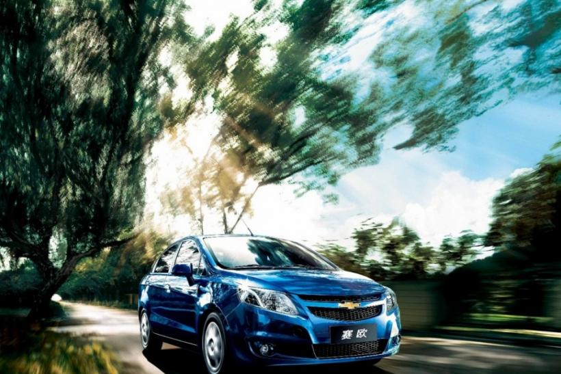 The 2011 Chevrolet Sail drives.