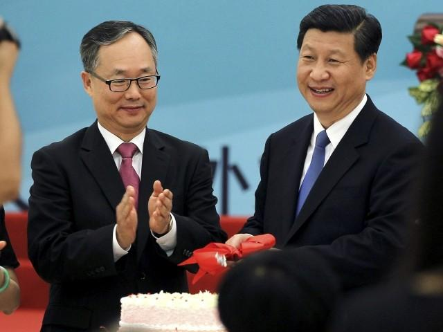 Xi Jinping and ambassador