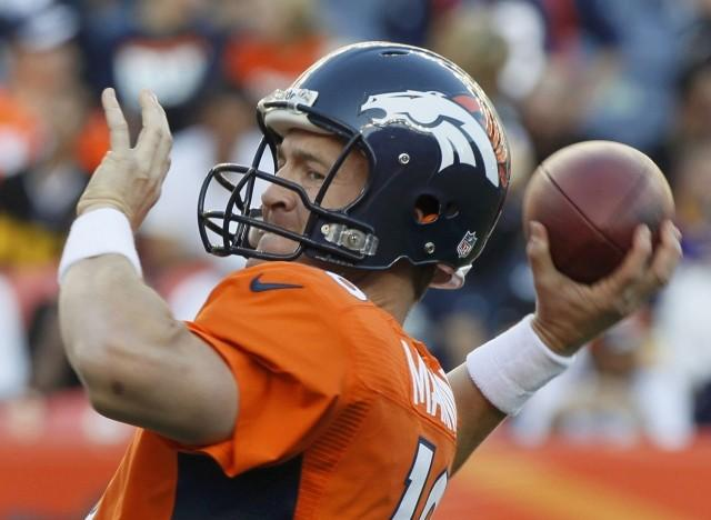 Peyton Manning is 1-0 as a Denver Broncos starter.