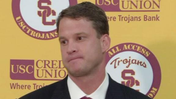 USC head coach Lane Kiffin will likely focus on strengthening the Trojan secondary.