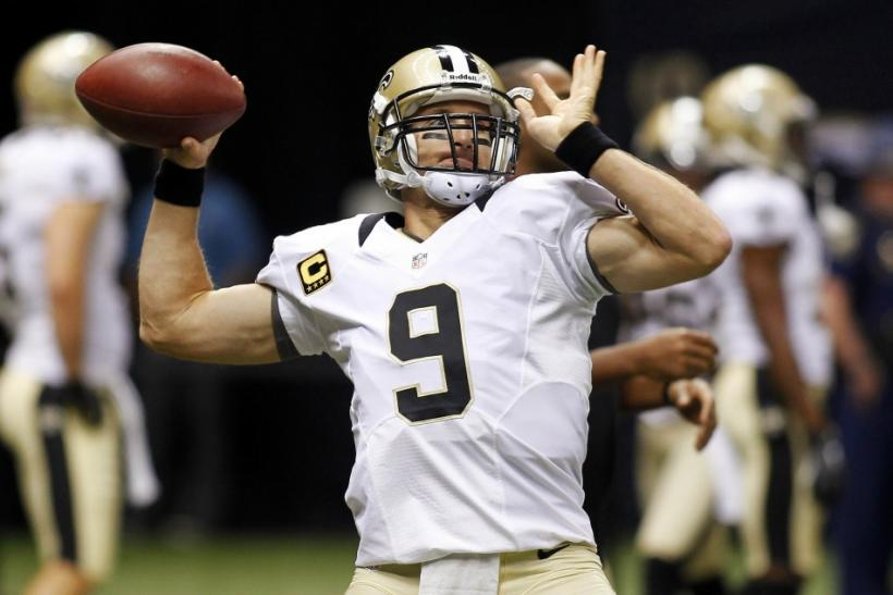 New Orleans Saints- Drew Brees