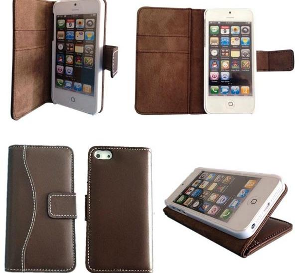 1. Bear Motion Lambskin Leather iPhone 5 Case - Available for $19.99