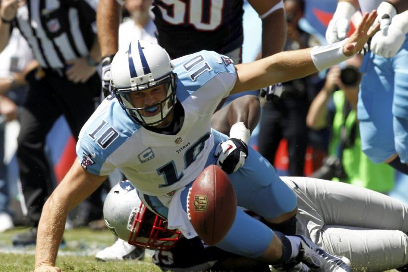 Tennessee Titans- Jake Locker